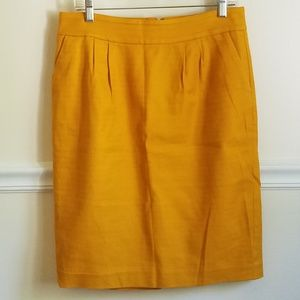 Banana Republic | Textured Cotton Lined Skirt 8